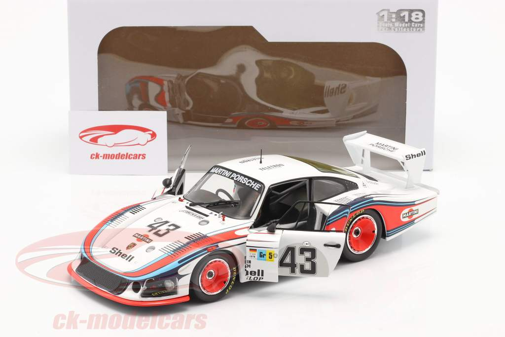 Porsche 935/78 Moby Dick #43 Octavo 24h LeMans 1978 Schurti, Stommelen 1:18 Solido