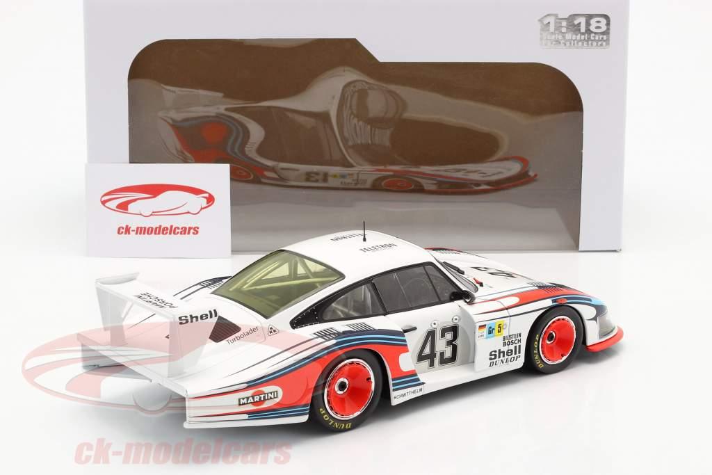 Porsche 935/78 Moby Dick #43 第八名 24h LeMans 1978 Schurti, Stommelen 1:18 Solido