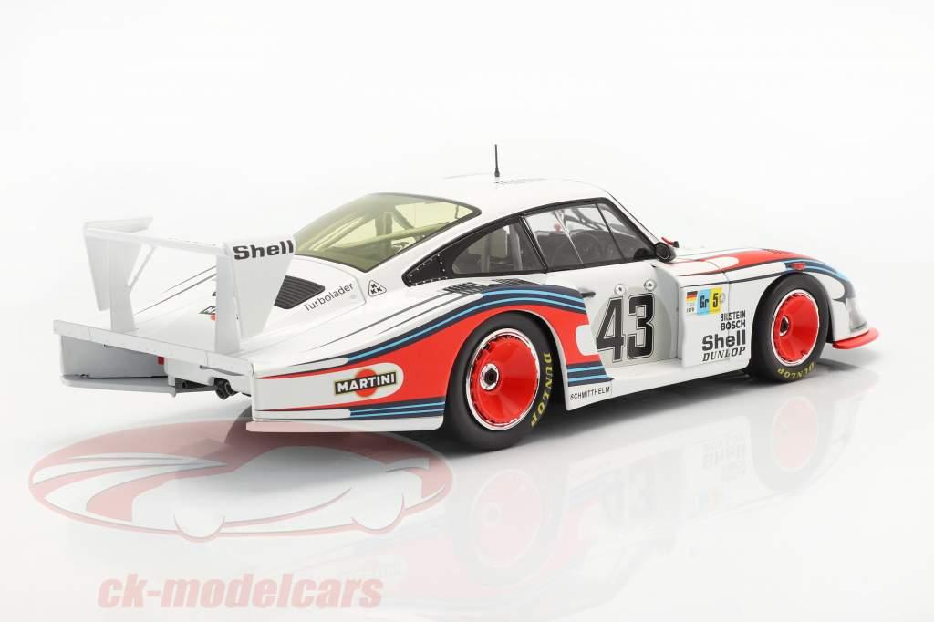 Porsche 935/78 Moby Dick #43 8th 24h LeMans 1978 Schurti, Stommelen 1:18 Solido