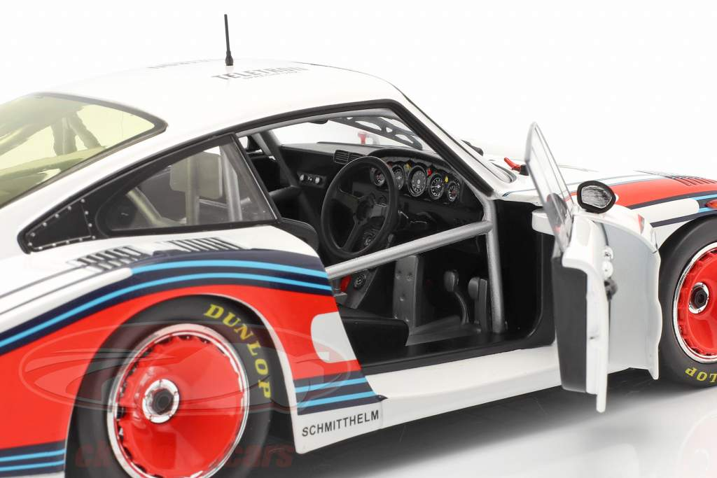Porsche 935/78 Moby Dick #43 8e 24h LeMans 1978 Schurti, Stommelen 1:18 Solido
