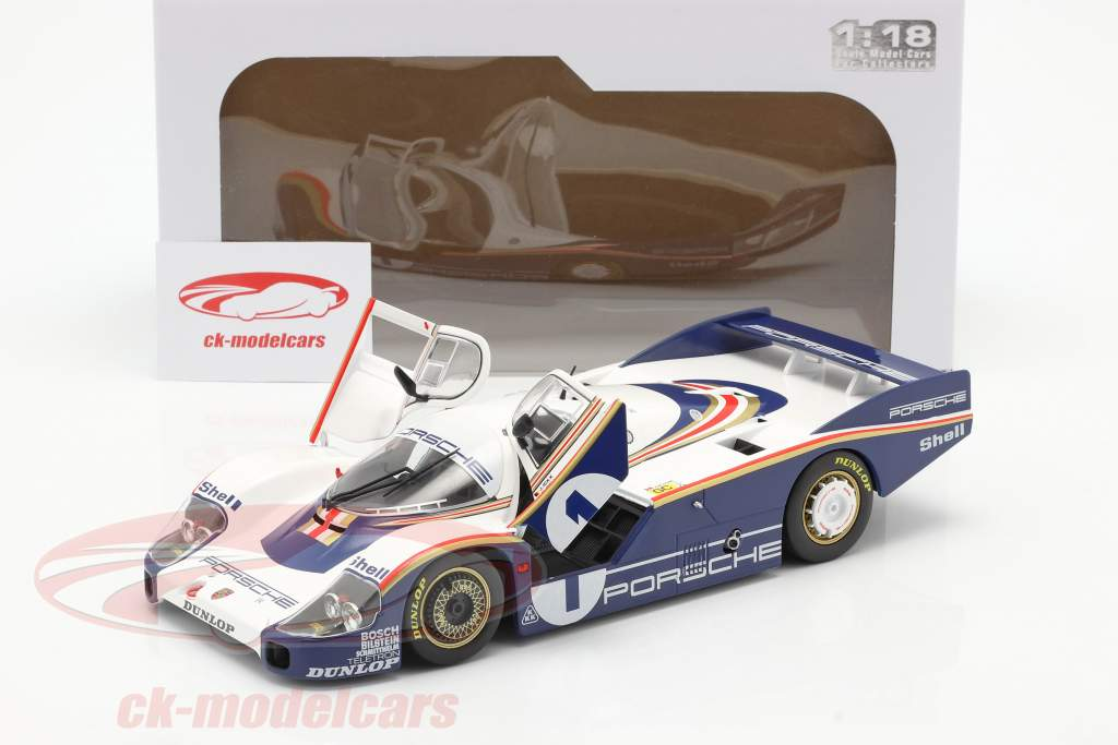 Porsche 956 LH #1 vencedora 24h LeMans 1982 Ickx, Bell 1:18 Solido