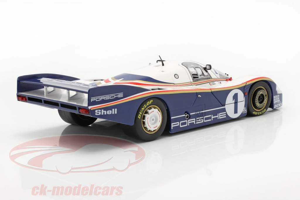 Porsche 956 LH #1 vincitore 24h LeMans 1982 Ickx, Bell 1:18 Solido
