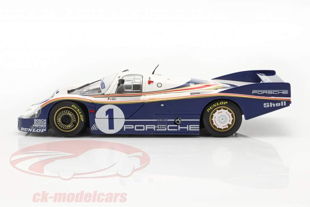 Porsche 956 LH #1 gagnant 24h LeMans 1982 Ickx, Bell 1:18 Solido