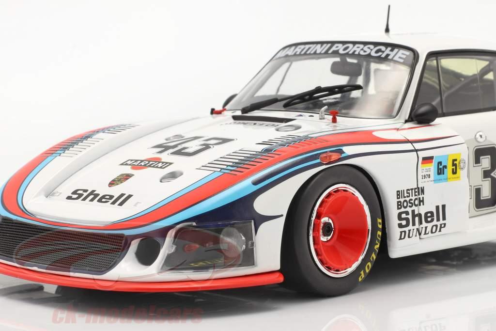 Porsche 935/78 Moby Dick #43 8ème 24h LeMans 1978 Schurti, Stommelen 1:18 Solido