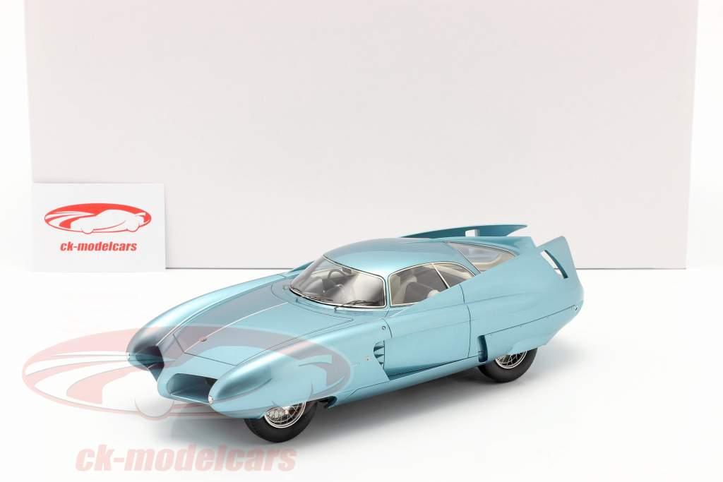 Alfa Romeo B.A.T. 7 Byggeår 1954 lys blå metallisk 1:18 Matrix