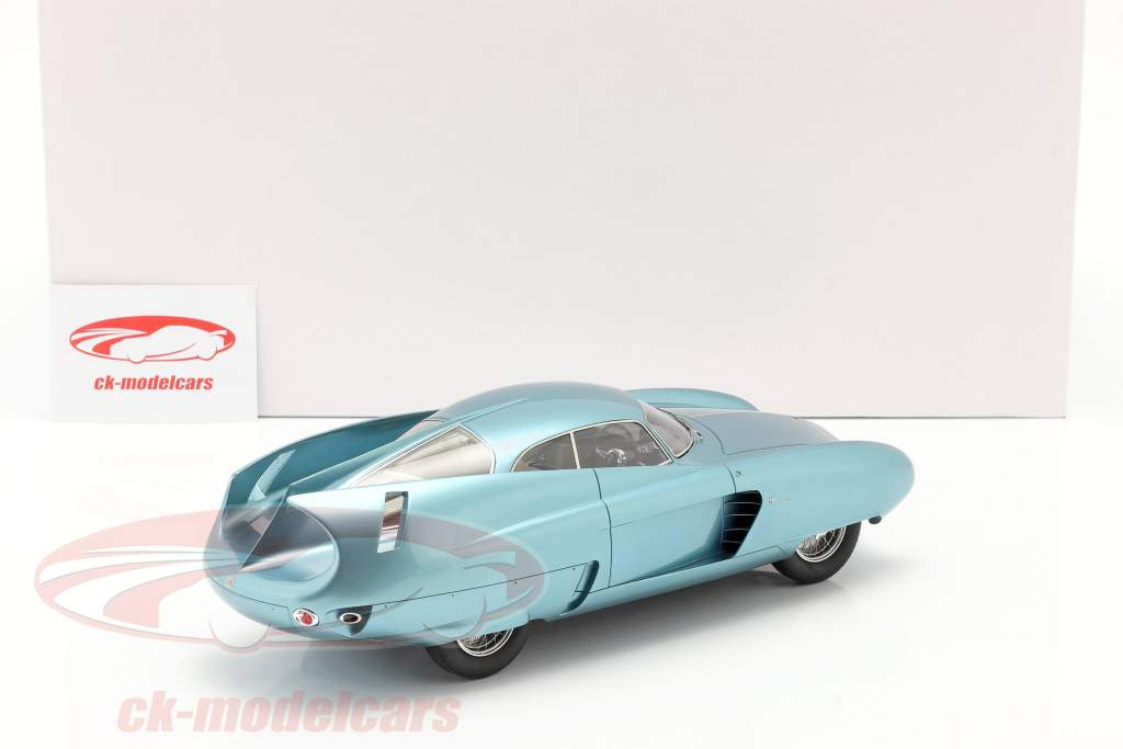 Alfa Romeo B.A.T. 7 Année de construction 1954 lumière bleu métallique 1:18 Matrix