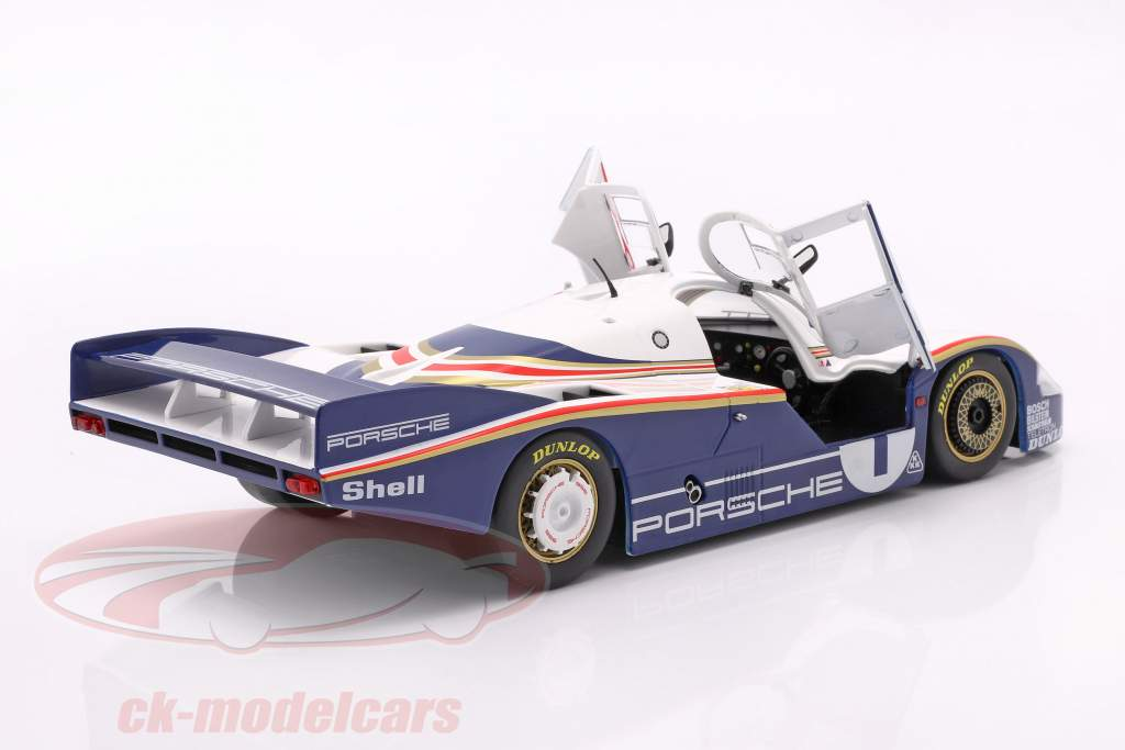 Porsche 956 LH #1 vinder 24h LeMans 1982 Ickx, Bell 1:18 Solido