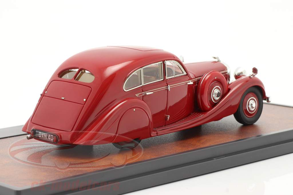 Bentley 4,5 litre Gurney-Nutting Airflow Saloon 1936 rouge 1:43 Matrix