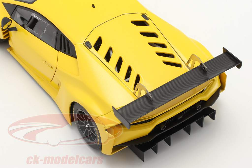 Lamborghini Huracan GT3 année de construction 2015 jaune 1:18 AUTOart