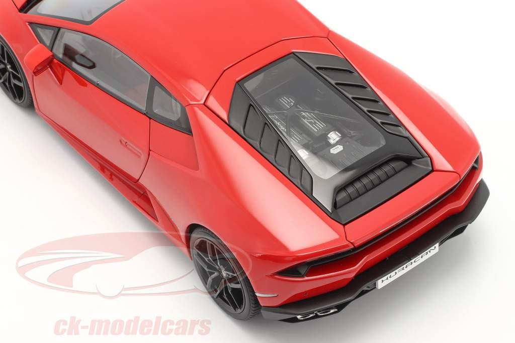 Lamborghini Huracan LP610-4 Opførselsår 2014 rød metallisk 1:18 AUTOart