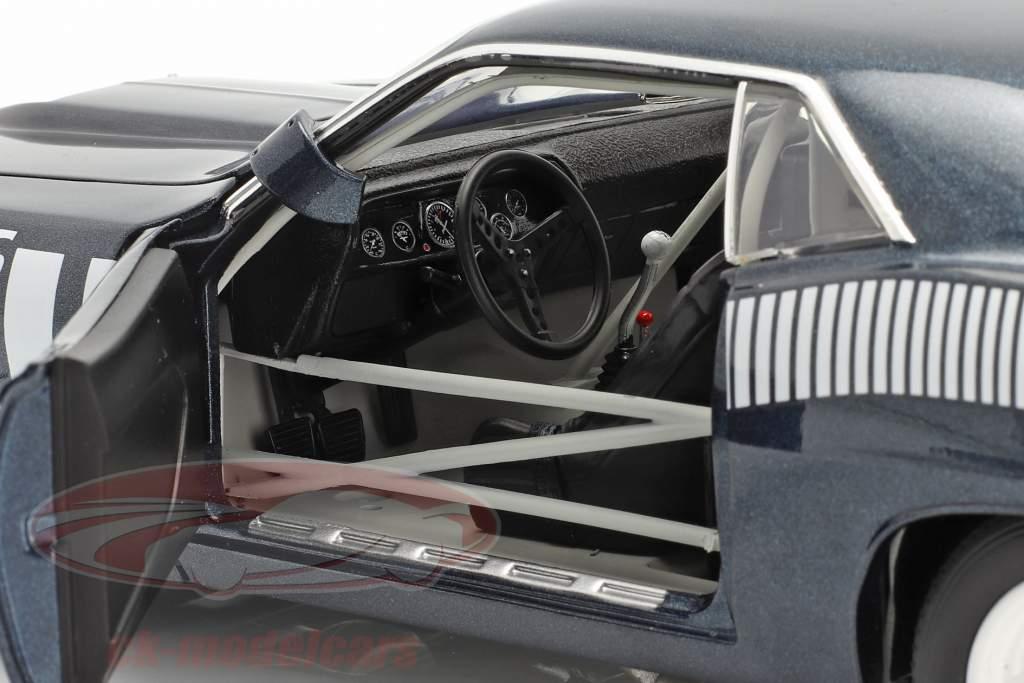 Plymouth Cuda AAR #48 1970 Pilot Car bleu / blanc 1:18 GMP