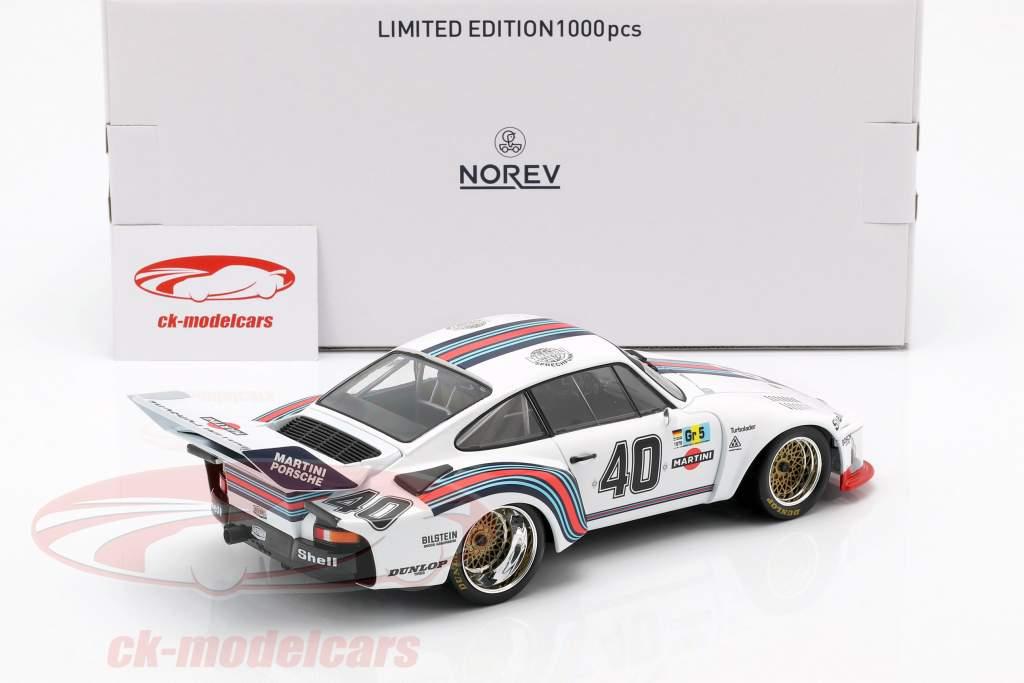 Porsche 935 #40 4. plads 24h LeMans 1976 Stommelen, Schurti 1:18 Norev