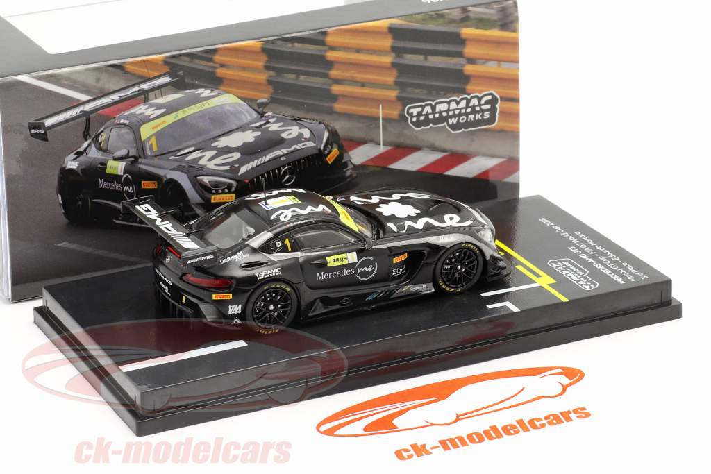 Mercedes-Benz AMG GT3 #1 Tercero FIA GT World Cup Macau 2018 1:64 Tarmac Works