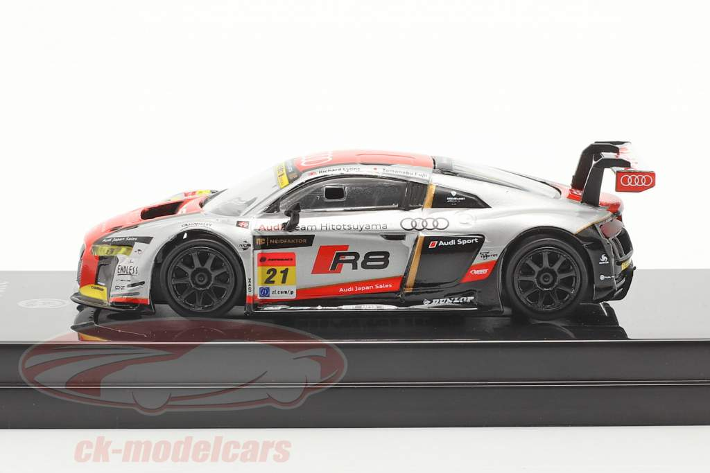 Audi R8 LMS #21 3. Super GT300 Series 2016 1:64 Paragon Models