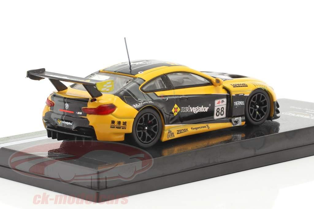 BMW M6 GT3 #88 eRacing stagione 1 HongKong GP 1:64 Tarmac Works