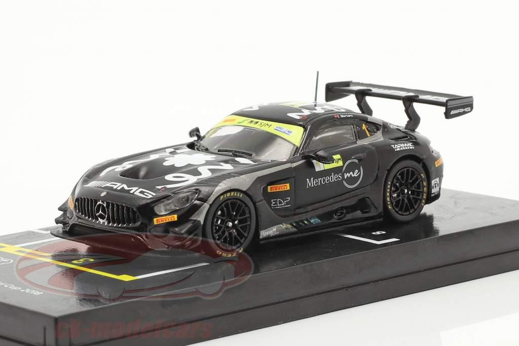 Mercedes-Benz AMG GT3 #1 3rd FIA GT World Cup Macau 2018 1:64 Tarmac Works