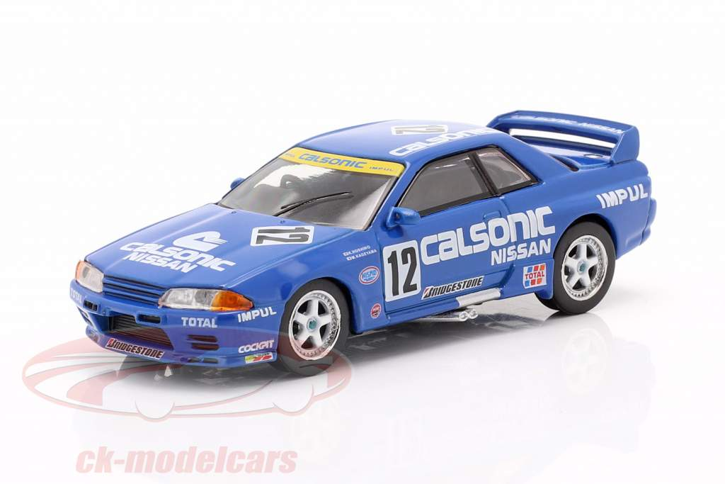 Nissan Skyline GT-R (R32) Gr.A RHD #12 Japon Touringcar Championship 1993 1:64 TrueScale