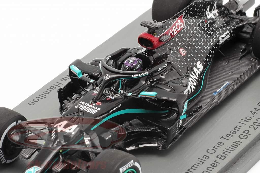L. Hamilton Mercedes-AMG F1 W11 #44 Britisk GP F1 Verdensmester 2020 1:43 Spark
