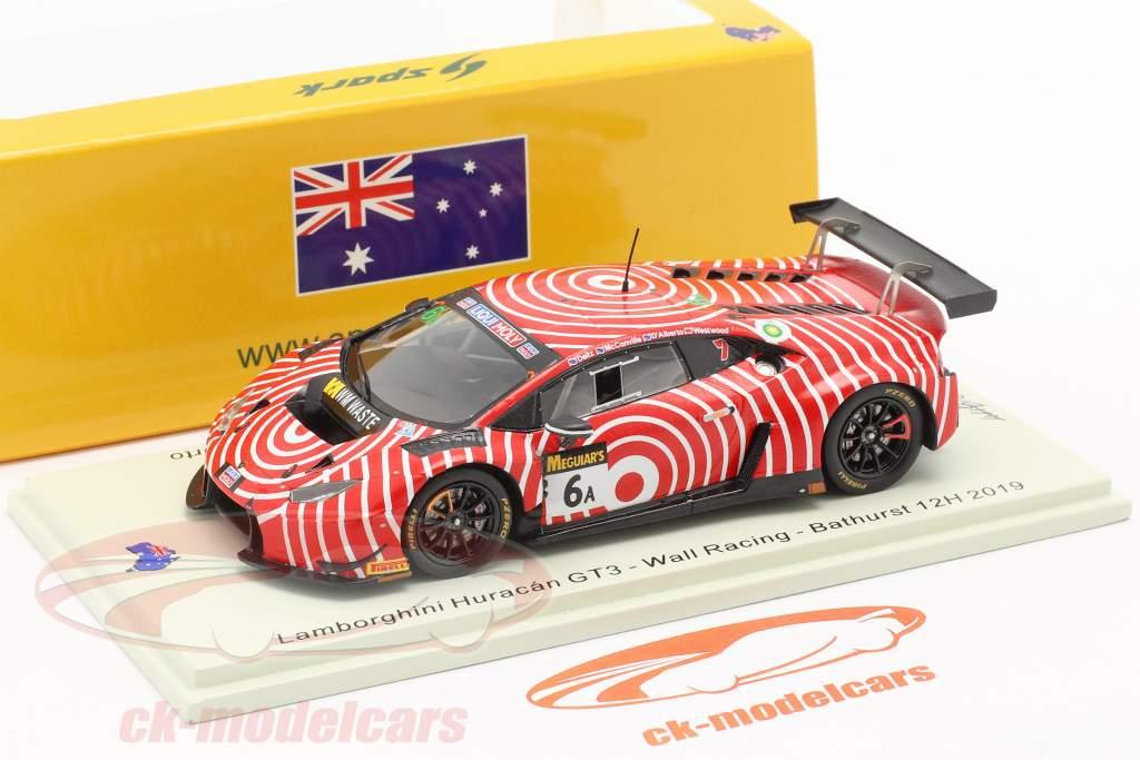 Lamborghini Huracan GT3 #6 12h Bathurst 2019 Wall Racing 1:43 Spark