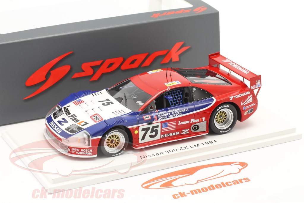 Nissan 300ZX Turbo #75 Classe Vencedora IMSA GTS 24h LeMans 1994 1:43 Spark