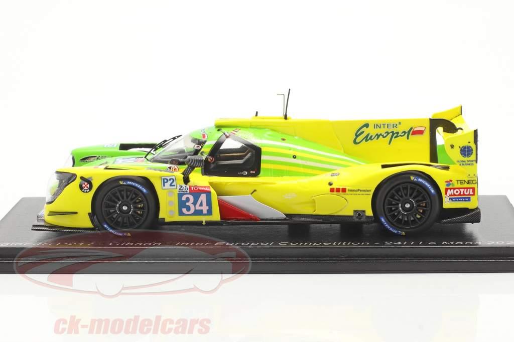Ligier JS P217 #34 24h LeMans 2020 Binder, Isaakyan, Smiechowski 1:43 Spark