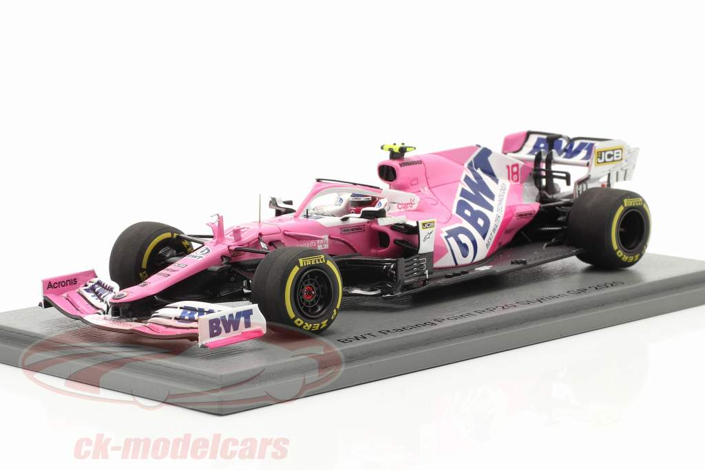 Lance Stroll Racing Point RP20 #18 7º Da Estíria GP Fórmula 1 2020 1:43 Spark