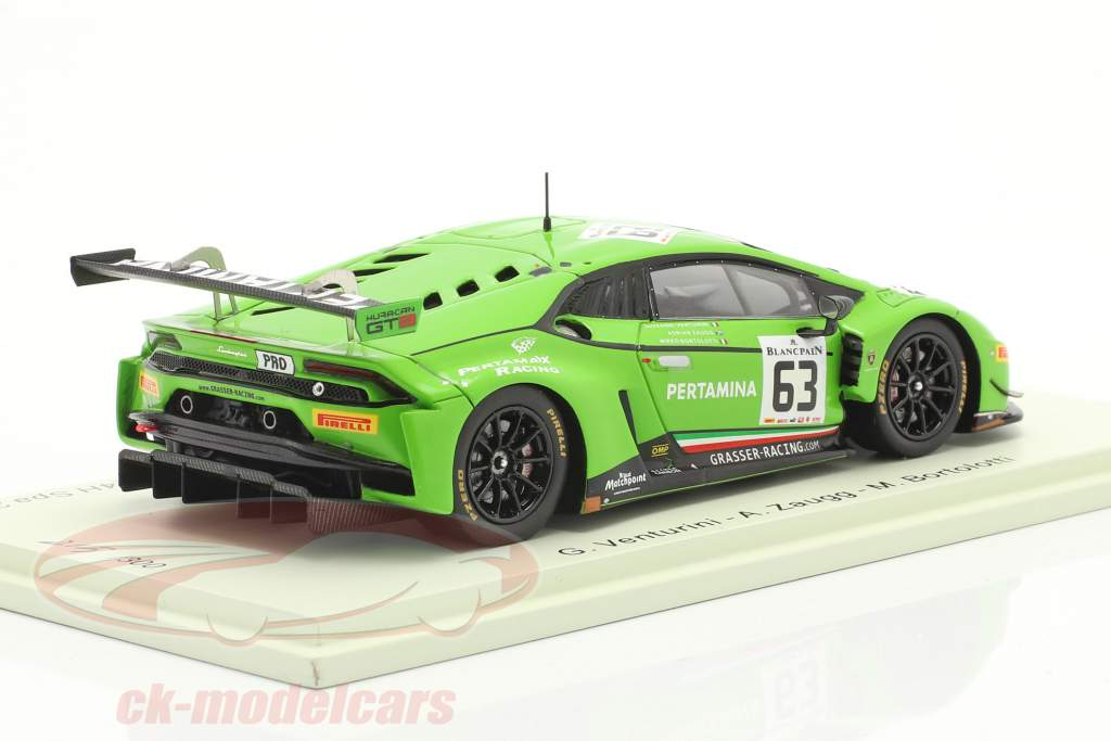 Lamborghini Huracan GT3 #63 24h Spa 2015 GRT Grasser Racing Team 1:43 Spark
