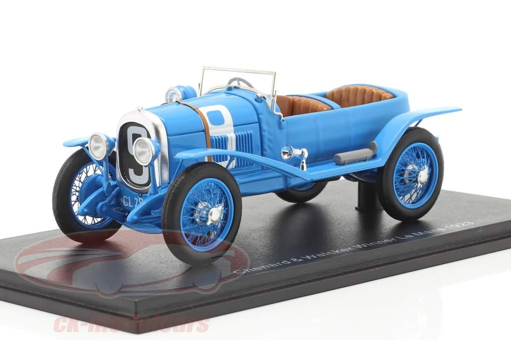 Chenard & Walcker Sport #9 vencedora 24h LeMans 1923 Lagache, Leonard 1:43 Spark