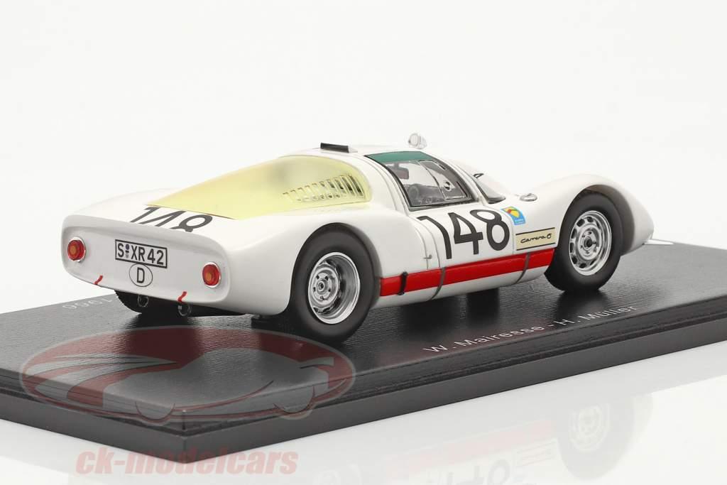 Porsche 906 #148 vincitore Targa Florio 1966 Mairesse, Müller 1:43 Spark