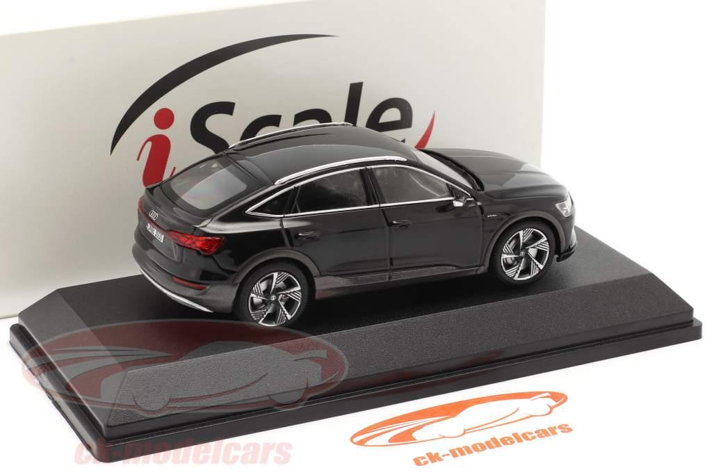 Audi e-tron Sportback Ano de construção 2020 Preto 1:43 iScale