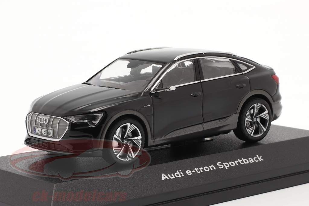 Audi e-tron Sportback Año de construcción 2020 negro 1:43 iScale