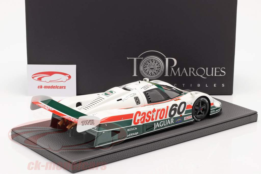 Jaguar XJR-9 #60 gagnant 24h Daytona 1988 Tom Walkinshaw Racing 1:18 TopMarques