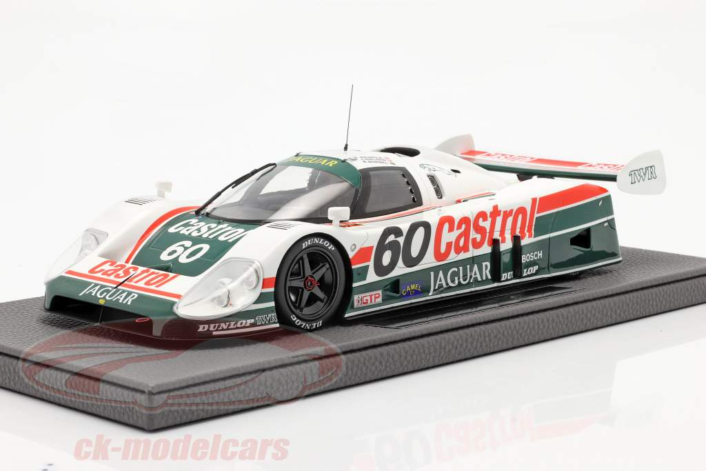 Jaguar XJR-9 #60 ganador 24h Daytona 1988 Tom Walkinshaw Racing 1:18 TopMarques