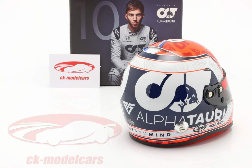 Pierre Gasly #10 Scuderia Alpha Tauri Honda formula 1 2020 casco 1:2 Arai
