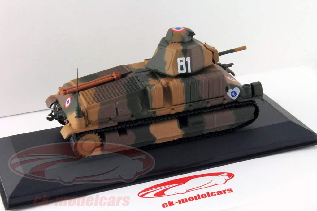 Somua S-35 1st DLM Quesnoy (Frankreich) Baujahr 1940 1:43 Altaya / 2. Wahl