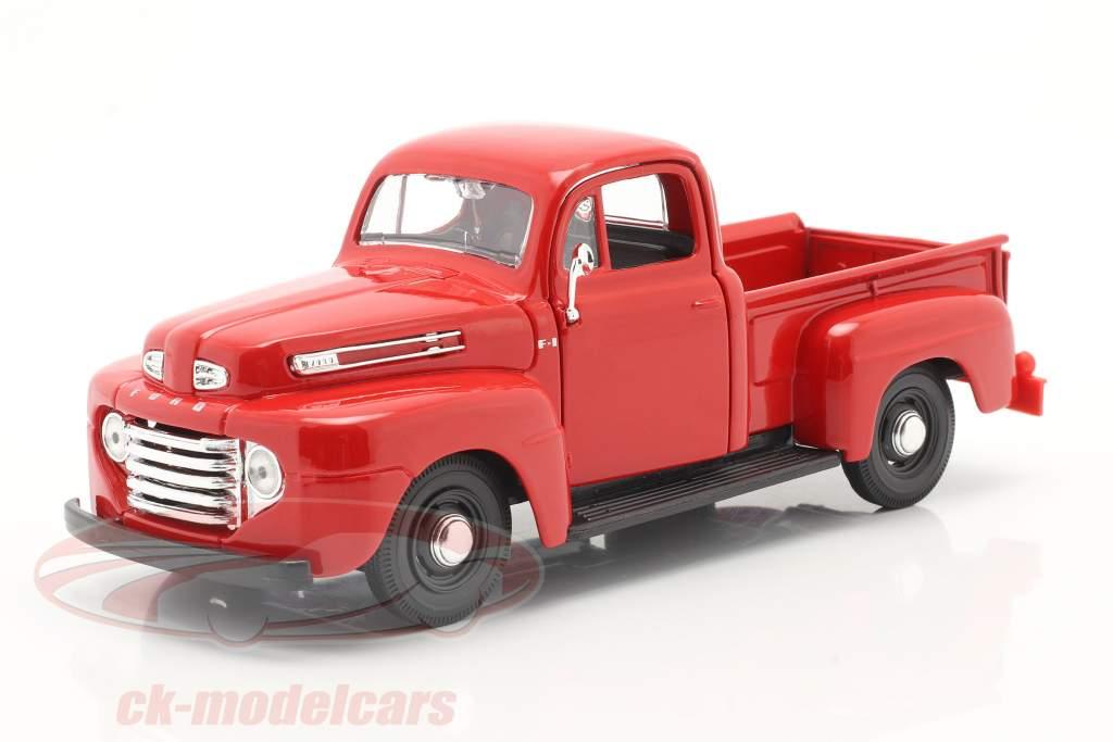Ford F1 Pick-Up Anno di costruzione 1948 rosso 1:24 Maisto