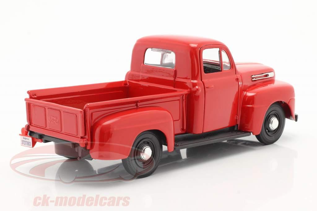Ford F1 Pick-Up Byggeår 1948 rød 1:24 Maisto