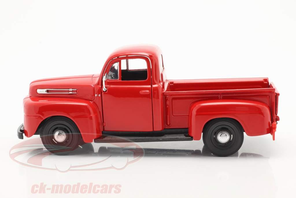 Ford F1 Pick-Up Année de construction 1948 rouge 1:24 Maisto