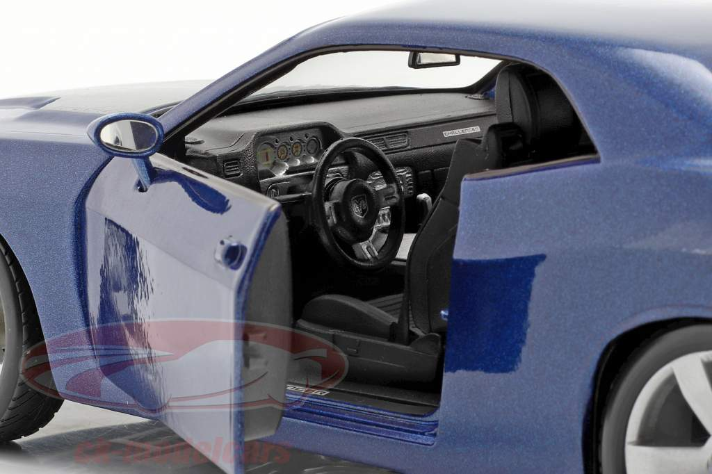 Dodge Challenger Concept Car 2006 blu metallico 1:18 Maisto
