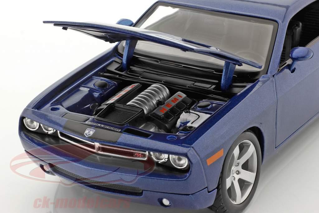 Dodge Challenger Concept Car 2006 blue metallic 1:18 Maisto
