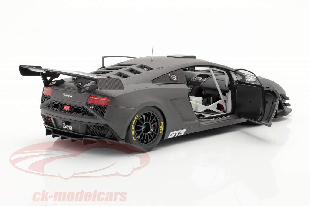Lamborghini Gallardo GT3 FL2 Bouwjaar 2013 mat Grijs 1:18 AUTOart