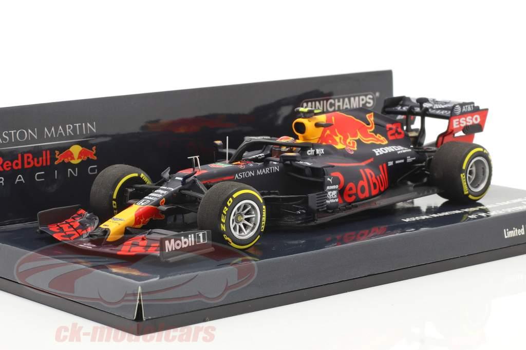 Alexander Albon Red Bull Racing RB16 #23 4e Styrien GP formule 1 2020 1:43 Minichamps