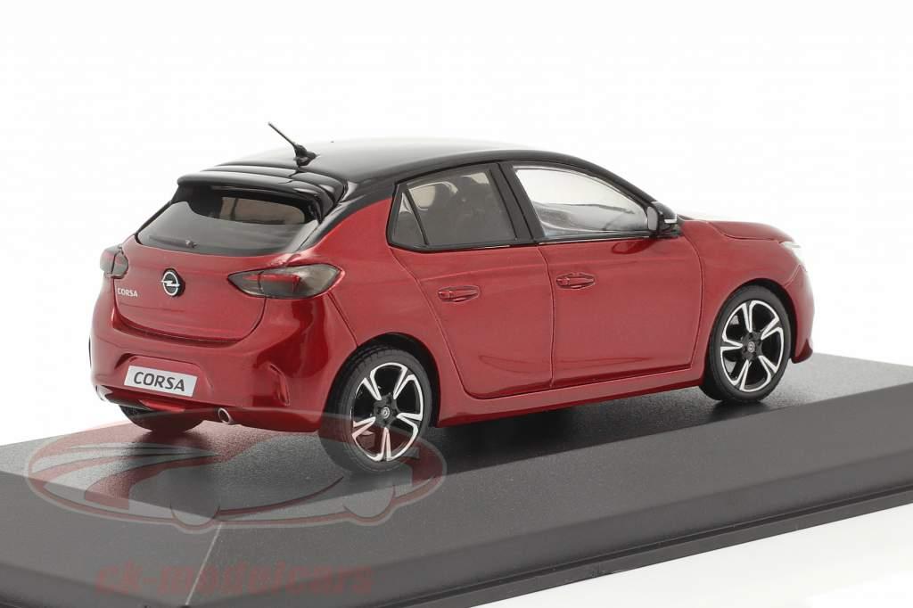 Opel Corsa E year 2019 red metallic 1:43 Minichamps