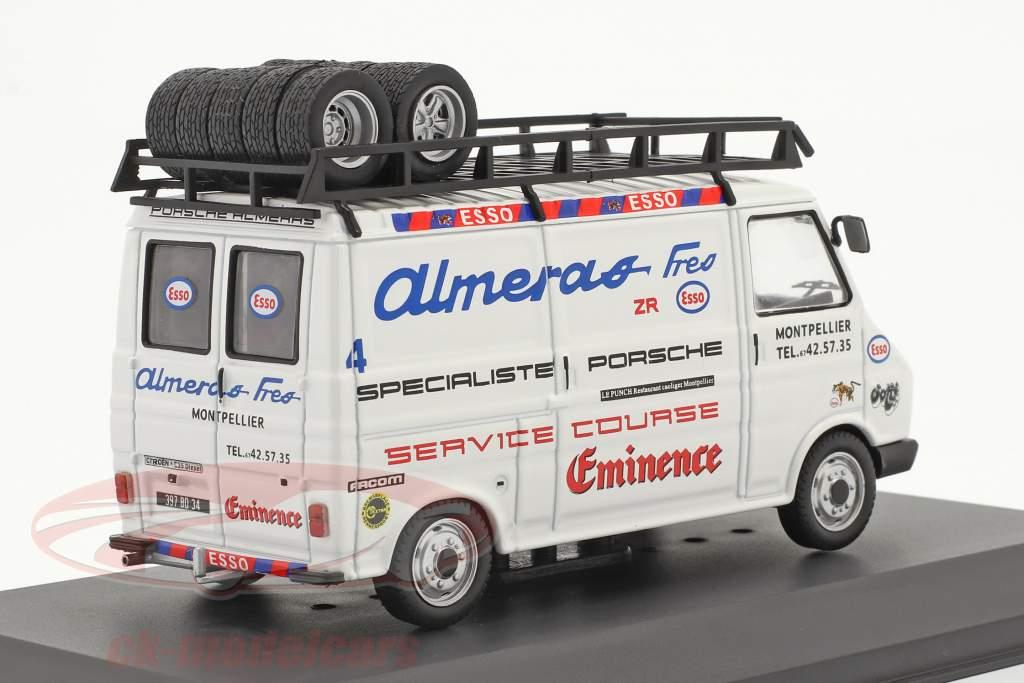Citroen C35 furgão 1980 Rallye Assistance Team Almeras Fres 1:43 Ixo