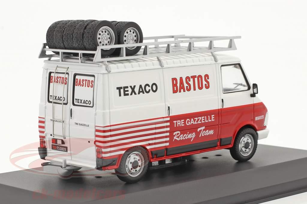 Fiat 242 Van Rallye Assistance Tre Gazzelle Racing Team 1:43 Ixo