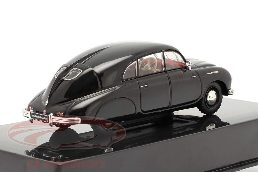 Tatra T600 Tatraplan Bouwjaar 1950 zwart 1:43 Ixo