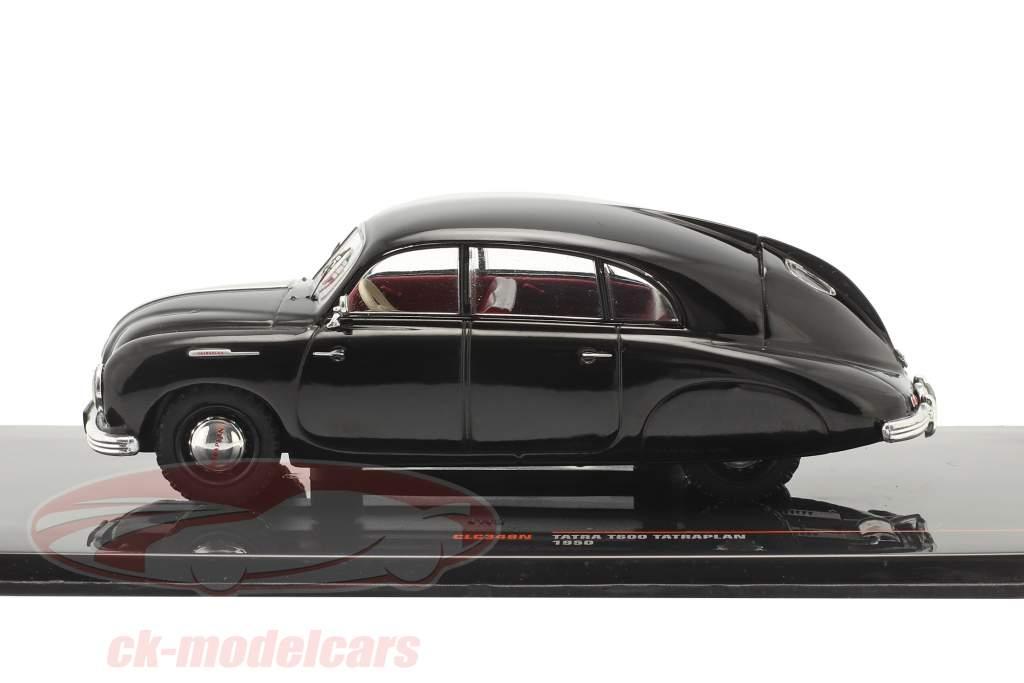 Tatra T600 Tatraplan Baujahr 1950 schwarz 1:43 Ixo