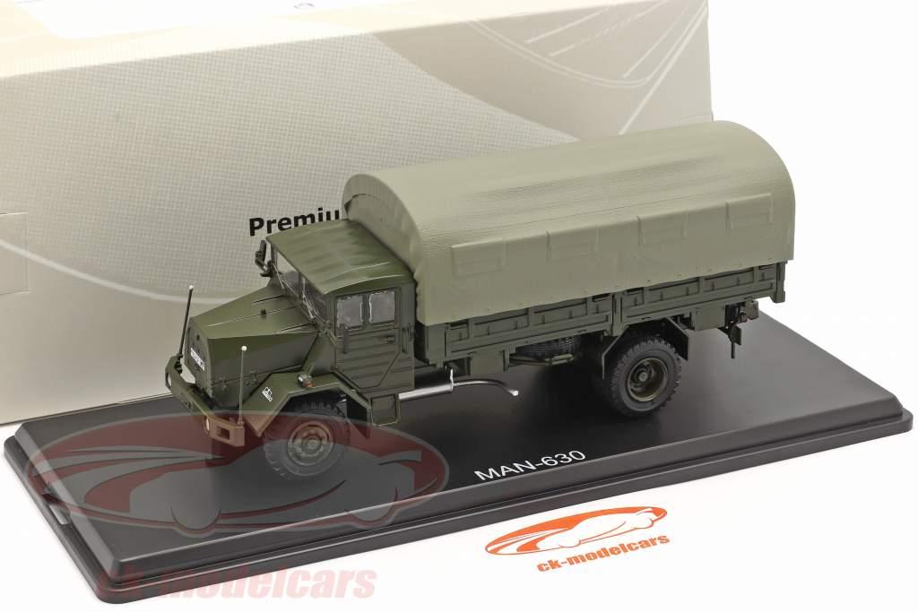 MAN 630 forze armate Veicolo militare piattaforma camion 1:43 Premium ClassiXXs