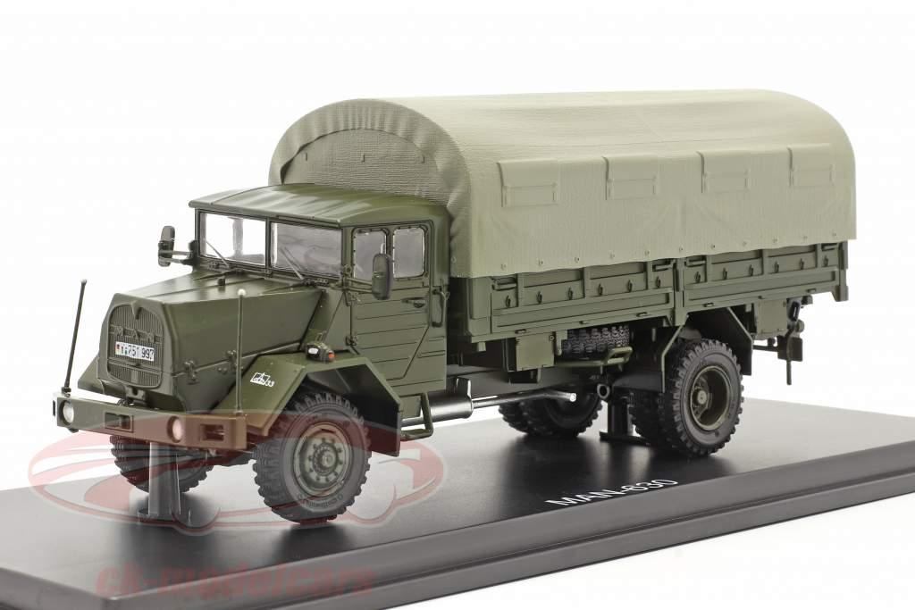 MAN 630 armed forces Military vehicle platform truck 1:43 Premium ClassiXXs