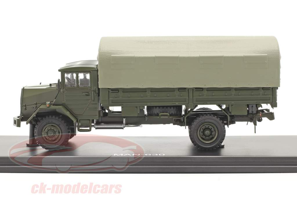 MAN 630 krijgsmacht Militair voertuig platform vrachtwagen 1:43 Premium ClassiXXs